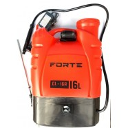 Опрыскиватель аккумуляторный садовый Forte CL-16A, 16л