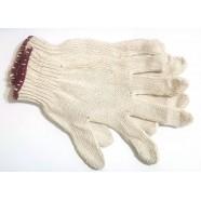 Перчатки вязанные без швов (белые №29)