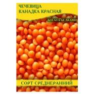 Семена Чечевицы Канадка, красная, 1 кг