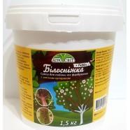 Садовая побелка Белоснежка с железным купоросом, 1,5 кг