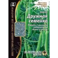 Семена гороха Дружная Семейка, 30г
