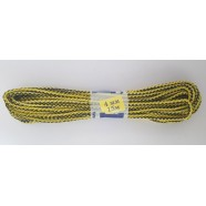 Шнур плетеный MNM диаметр 4 мм, 15м