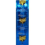 Пластина на алюминиевой основе от комаров Рейд (Raid), 10 пластин