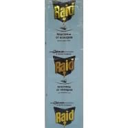 Пластина для фумігатора від комарів без запаху Raid, 10 шт.
