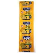 Пластина для фумігатора Чистий Дім з запахом лимона, 10 пластин