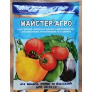 Удобрение для томатов, перца, баклажан Мастер, 100г.