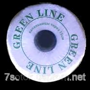GreenLine (Грин Лайн), лента для капельного орошения, капельницы через 15см, 2000м