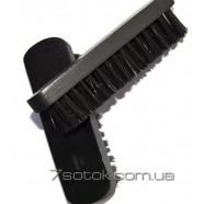 Щетка для одежды и полировки обуви, черная