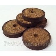 Таблетки кокосовые для рассады Джиффи Ø50мм