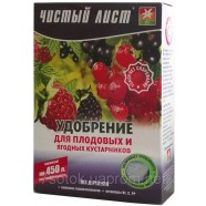 Кристаллическое удобрение для плодовых и ягодных кустарников, 0,3кг.