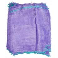Фиолетовая овощная сетка, размер 45х75, 30кг