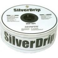 Лента капельная SilverDrip, 16ммх8MIL, капельницы через 15см, бухта 1000м