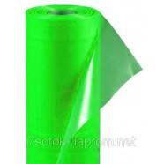 Тепличная зелёная пленка, стабилизация 24мес., 100мкм, рукав 1,5х2, рулон 100м