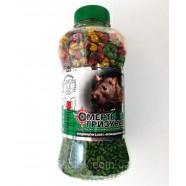 Отрава Смерть грызунам 2 в 1 зерно зеленое + гранула микс банка, 400г