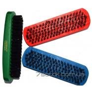 Длинная овальная щетка для обуви и одежды, разноцветная