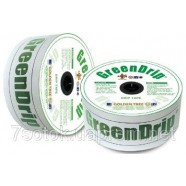 Лента для капельного полива Green Drip, 16ммх8MIL, капельницы через 30см, бухта 1000м