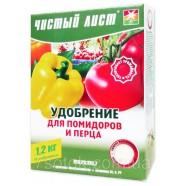 Удобрение для помидоров и перца кристаллическое, 1,2кг.