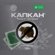 Капкан, тесто - средство борьбы с крысами, 200 г