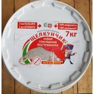 Приманка для крыс и мышей Щелкунчик тесто, 7 кг