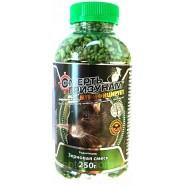 Приманка Смерть гризунів зерно, 250г, арахіс (зелений)