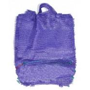 Сетка с ручкой овощная фиолетовая, размер 25х39, 5кг
