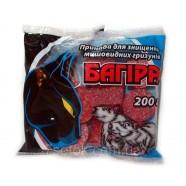 Яд от крыс Багира парафиновые брикеты, 200г.