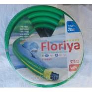 """Поливочный шланг армированный Флория (Floriya), - 3/4"""" (18мм), длина 20м."""