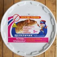Тесто от грызунов Щелкунчик, 5 кг
