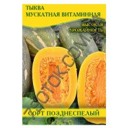 Насіння гарбуза Мускатна Вітамінна, 100 г