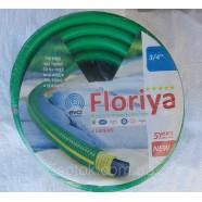 """Шланг поливочный армированный Флория (Floriya), - 3/4"""" (18мм), длина 30м."""