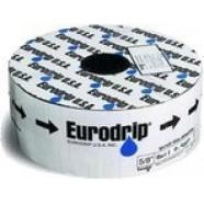 Трубка для капельного полива EuroDrip (Евродрип), 16ммх6MIL, капельницы через 30см