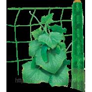Шпалерна сітка огіркова, ширина 2м., рулон 500м