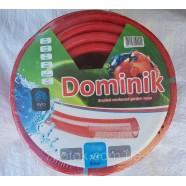 """Шланг поливальний армований Домінік (Dominik), - 3/4"""" (19мм), довжина 50м."""