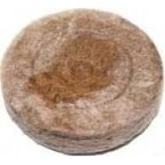 Таблетка торфоперегнойная Jiffy-7 (Джиффи) Ø41 мм