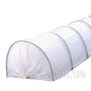 Агротеплица - парник, шир,1,5м, выс.1м, длина 8м, 35г/м²