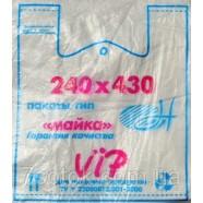 "Полиэтиленовый пакет ""Майка"" №2, 240х430, 17мкм, 200 штук"