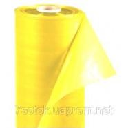Парниковая желтая пленка, УФ 12мес., 100мкм, рукав 1,5х2, рулон 100м