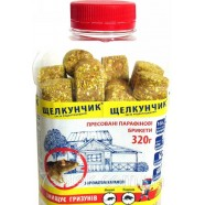 Щелкунчик брикет, приманка, в банке с ароматом карамели, 320 г