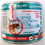 Щелкунчик брикет от грызунов, в тубе с ароматом арахиса, 320 г