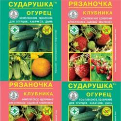 """Добрива серії """"Сударушка"""", """"Рязаночка"""""""