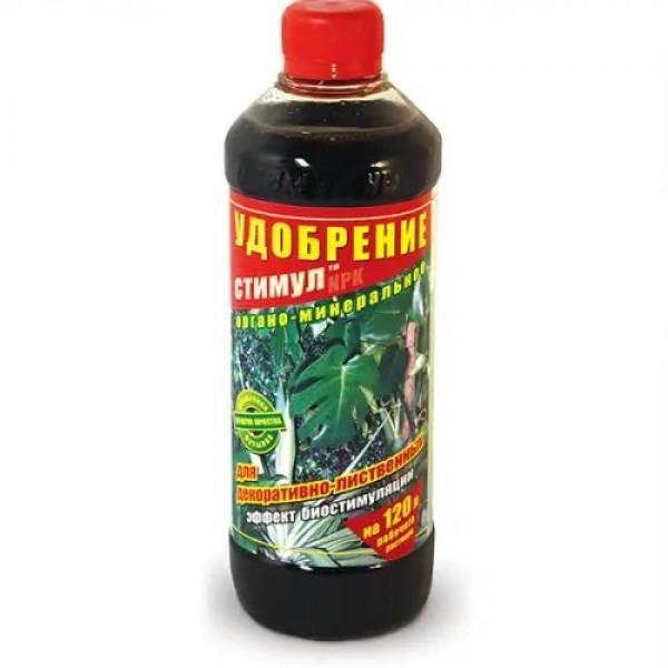 Добриво стимул органомінеральне для декоративно-листяних, 0,5 л.