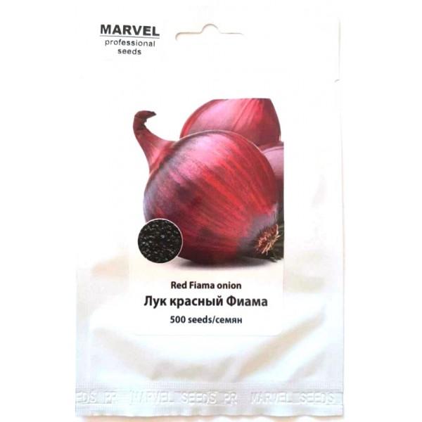 Семена лука Фиама красный (Польша), 500 шт