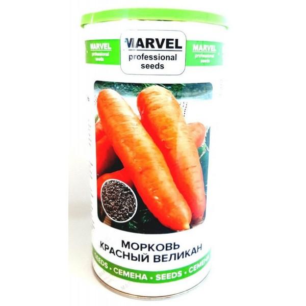 Насіння моркви Червоний Велетень (Польща), Marvel, 0,5кг