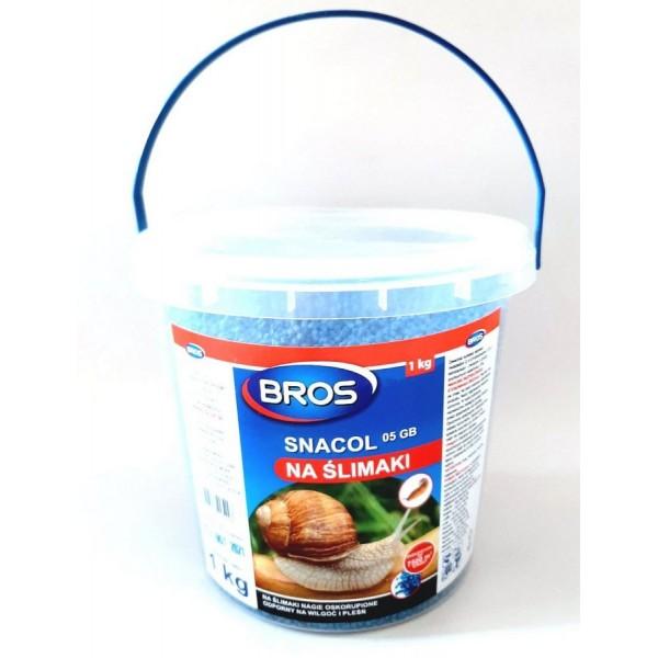 Препарат Bros (Брос) від слимаків, відро 1 кг.