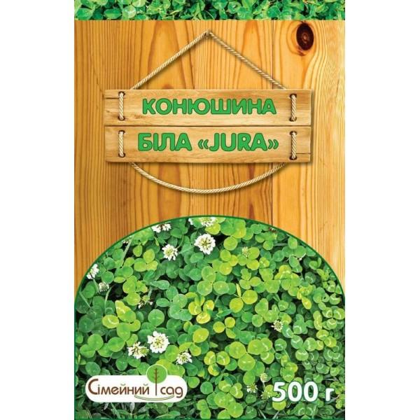 Семена газонной травы Клевер белый JURA, 500 г
