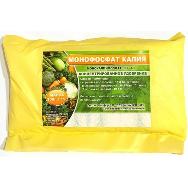 Комплексное минеральное удобрение Монофосфат калия, 0,3 кг.