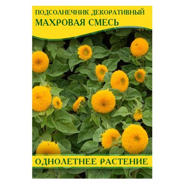 Семена подсолнечника декоративный махровая смесь, 50г