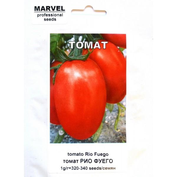 Насіння томату інкрустований Ріо Фуего (Німеччина), 1г