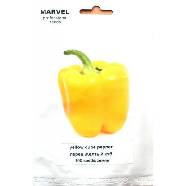Семена перца Желтый куб (Польша), 100 семян
