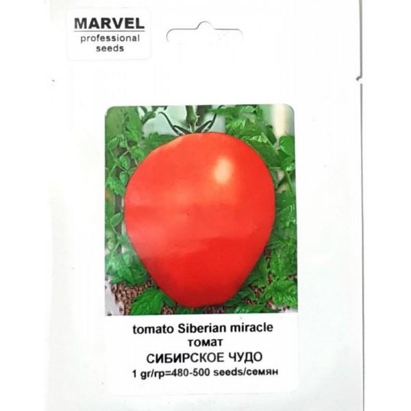 Насіння томату Сибірське Диво (РФ), 1грамм